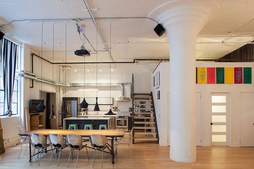 Dise o de loft industrial construye hogar - Loft de diseno ...