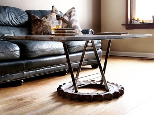 Diseño de muebles con materiales reciclados y rústicos  Construye