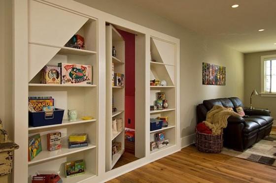 Diseño de mueble oculta habitación