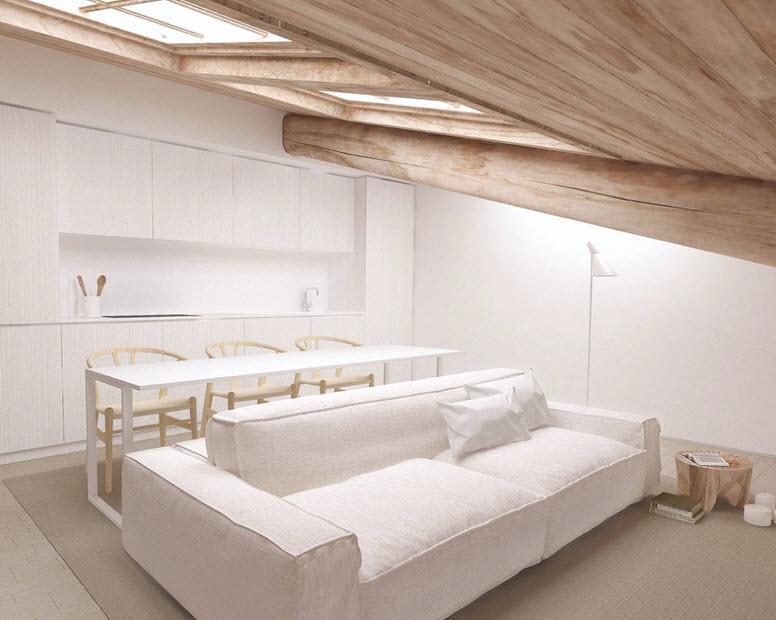 Planos de apartamentos peque os de uno y dos dormitorios for Muebles departamento pequeno