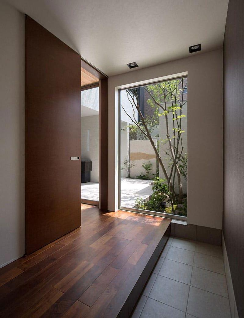 diseo de puerta corrediza de madera