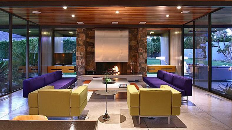 Dise o de casa grande con piscina de leonardo dicaprio for Decoradores de casas interiores