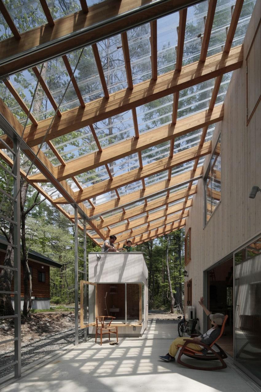 Dise o de casa para climas c lidos y fr os construcci n for Diseno techos para terrazas