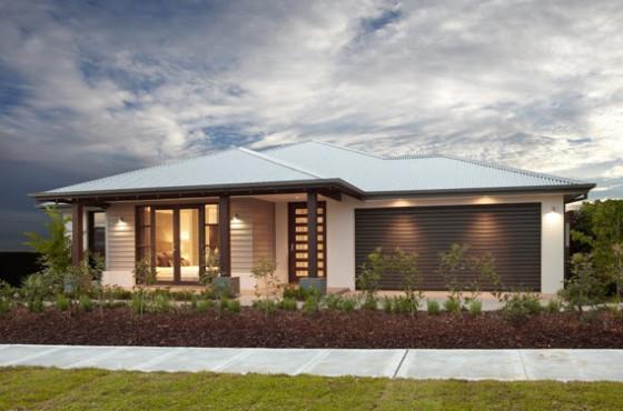 Planos de casas de un piso fachadas y planos de planta for Imagenes de disenos de casas de un piso