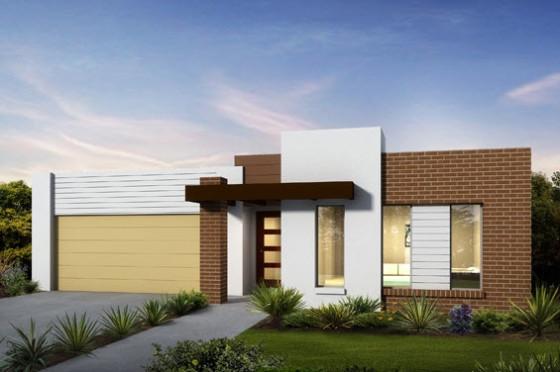 Planos de casas de un piso fachadas y planos de planta for Planos y fachadas de casas