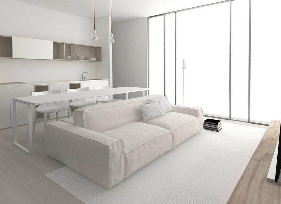 Planos de apartamentos peque os de uno y dos dormitorios for Muebles modernos para departamentos pequenos