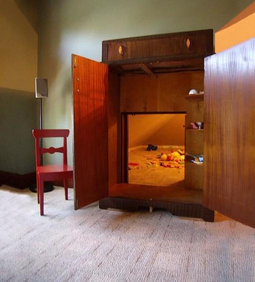 Mueble para ocultar habitación oculta