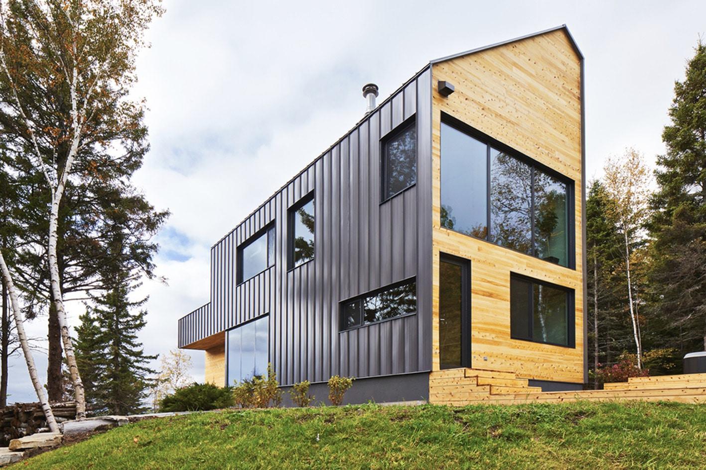 Dise o de casa moderna de dos pisos m s s tano planos for I house architecture