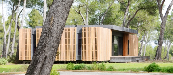 Perfil de casa pasiva prefabricada