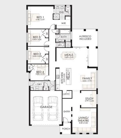 Planos de una casa de un piso imagui for Planos para casas de un piso