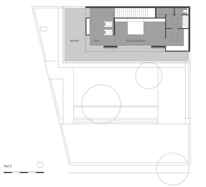 plano de casa rstica pisos