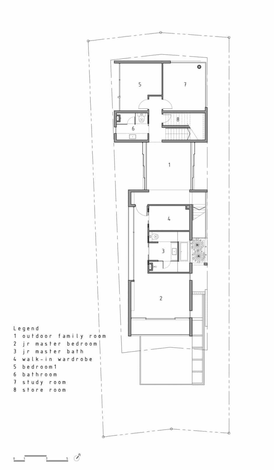 Plano De Casa De Dos Pisos Peque A Fachada E Interiores