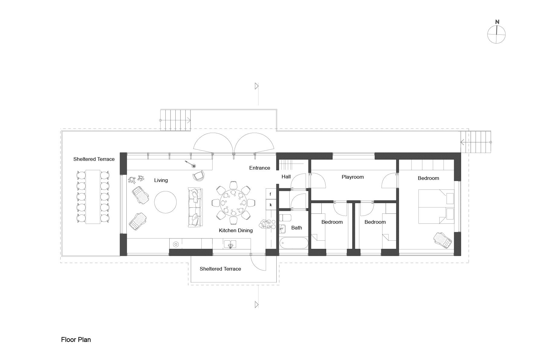 Dise o de casa peque a de madera fachada planos - Diseno de planos de casas ...