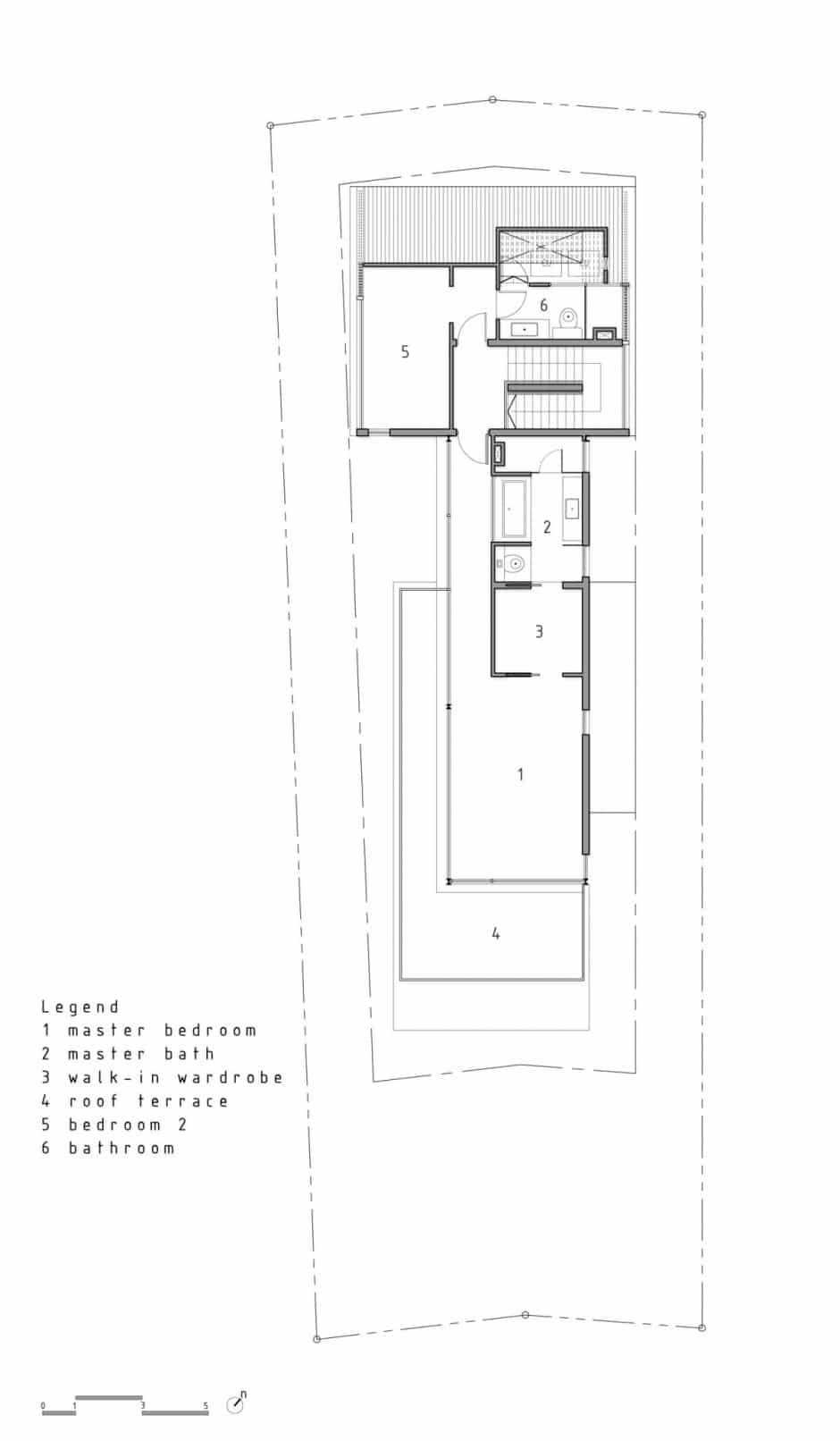 Plano de casa de dos pisos peque a fachada e interiores for Planos de casas de dos pisos modernas