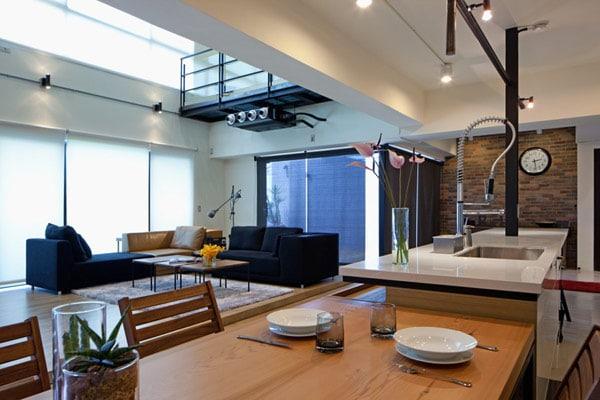 Dise O De Apartamento En Un Almac N Loft Moderno