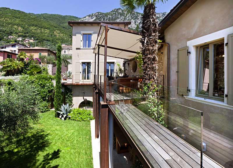 Decoraci n de interiores r stico y moderno combina dise o for Fachadas de terrazas rusticas