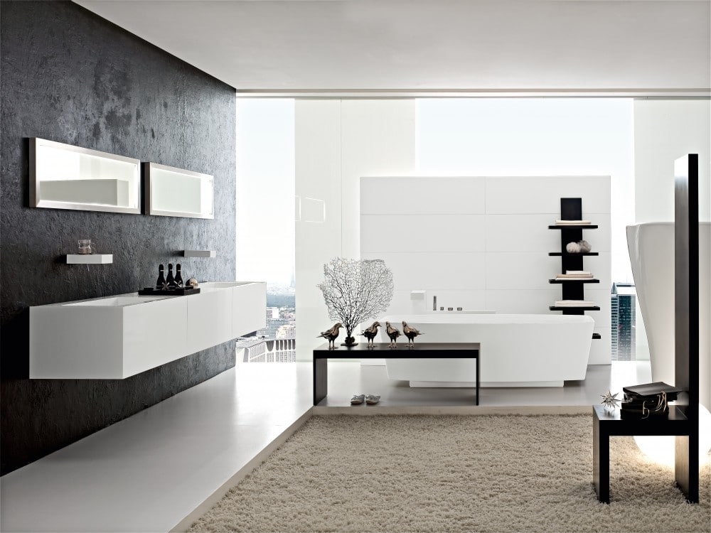 Dise o de cuartos de ba o modernos fotos construye hogar for Disenos de cuartos de banos modernos