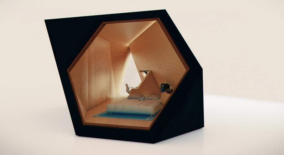 Construir habitación en patio con sistema modular moderno ...