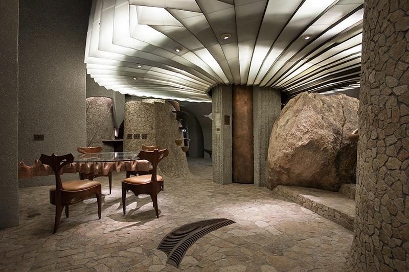 Dise o de casa org nica en el desierto construye hogar - Iluminacion moderna de interiores ...