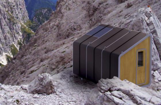 Diseño de cabaña para climas frios