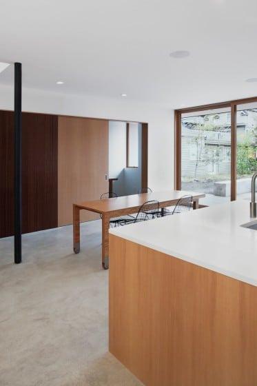 Diseño de comedor sencillo de casa