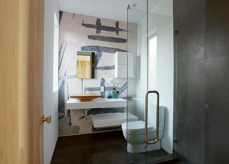 Baño Japones Moderno:Diseño de casa moderna de dos pisos, fachada e interiores