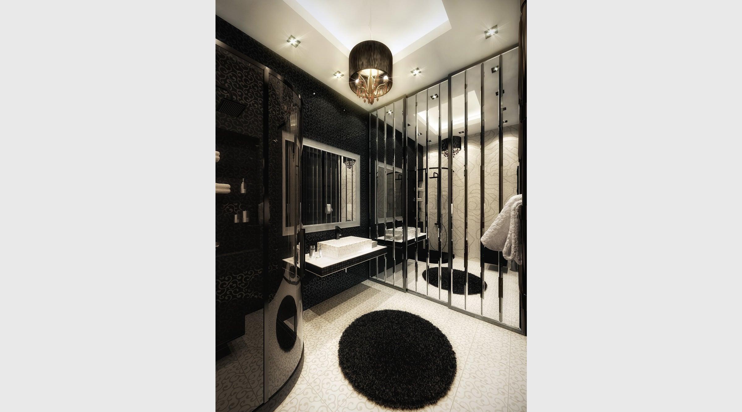 Decoracion De Un Baño Principal:de piso a techo también son parte de los elementos utilizados en