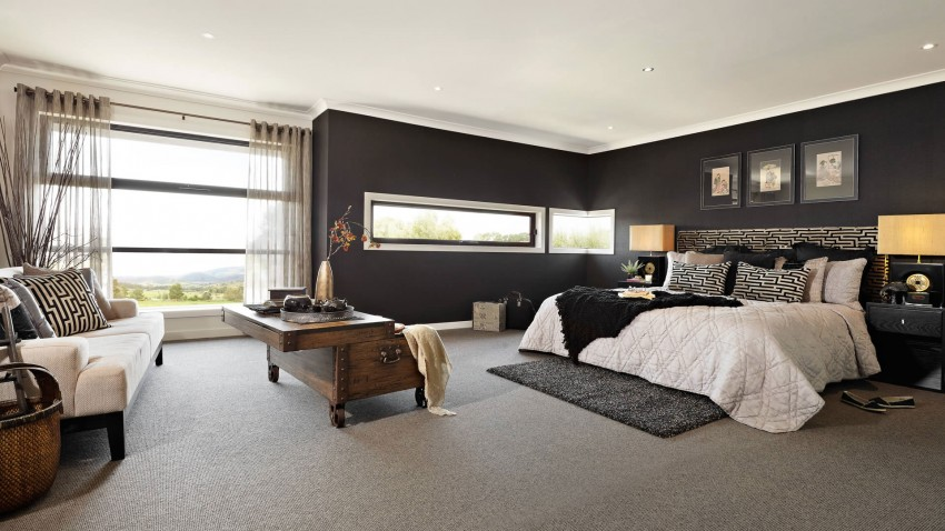 casa de dos pisos moderna fachada y dise o de interiores construye hogar. Black Bedroom Furniture Sets. Home Design Ideas