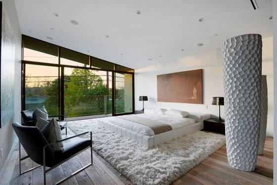Exclusivo diseño de dormitorio principal moderno