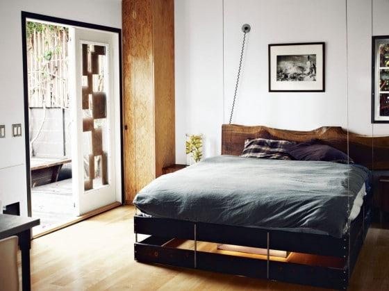 Diseño de interiores de dormitorio pequeño