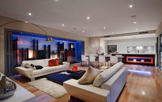 Moderna Casa De Dos Plantas Con Dise O Interior Que