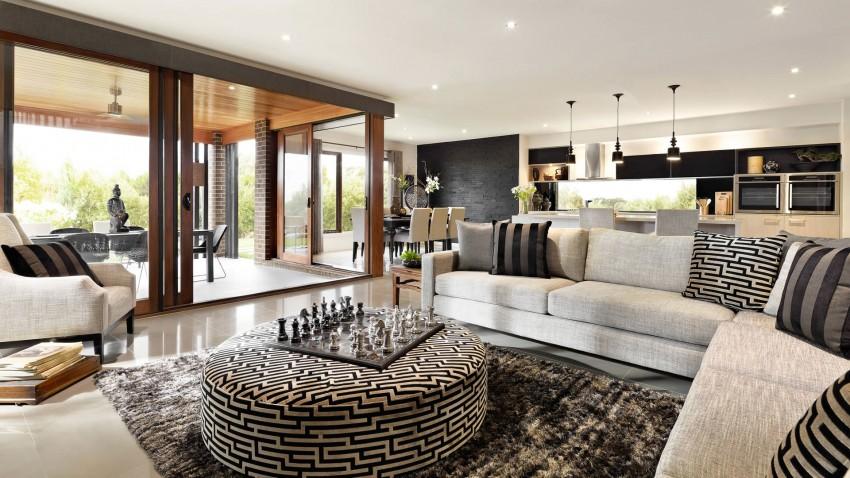 Acabados y diseño de interiores de la casa
