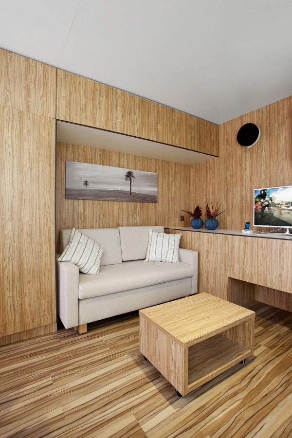 3 modelos de planos de casas peque as de madera for Salas de madera modernas