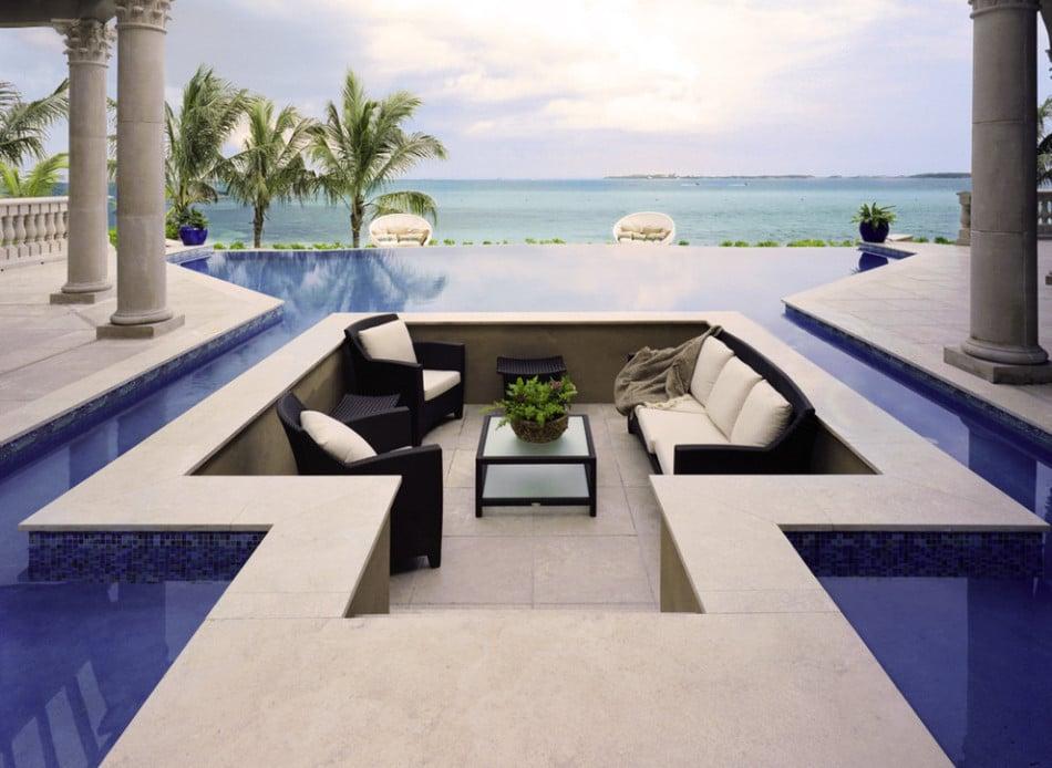 10 novedosos dise os de terrazas ideas de decoraci n - Piscinas en terrazas de casas ...