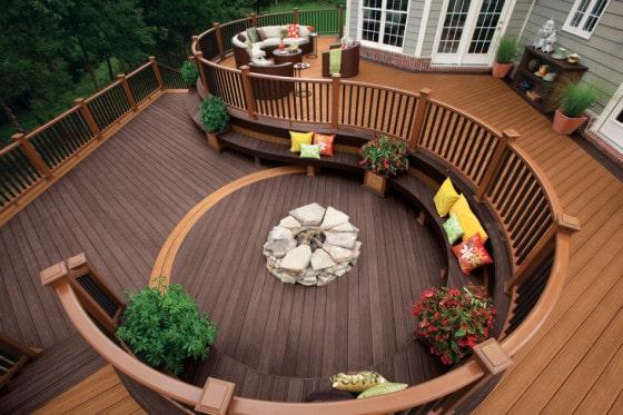 Diseño de terraza moderna 10