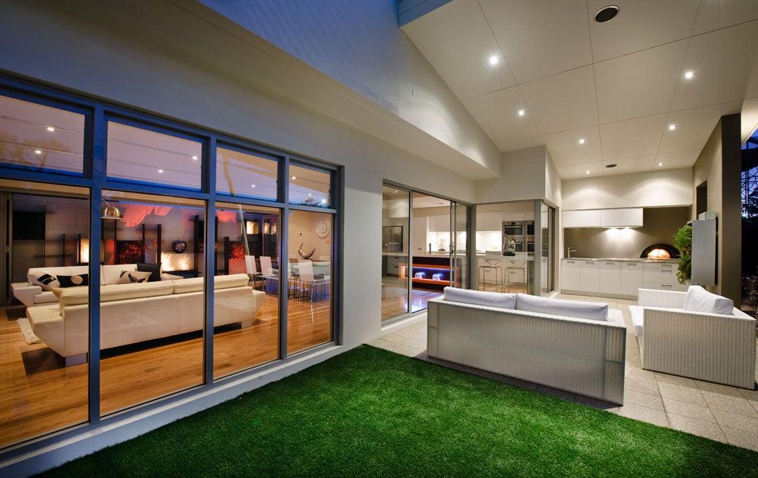 Dise o de terraza moderna construye hogar - Diseno de terraza ...