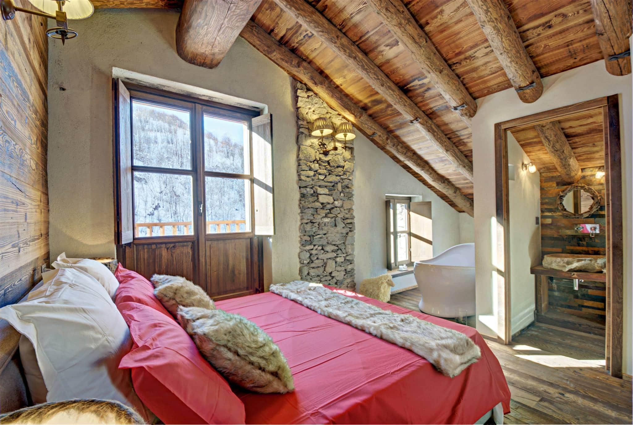 dormitorio principal rstico