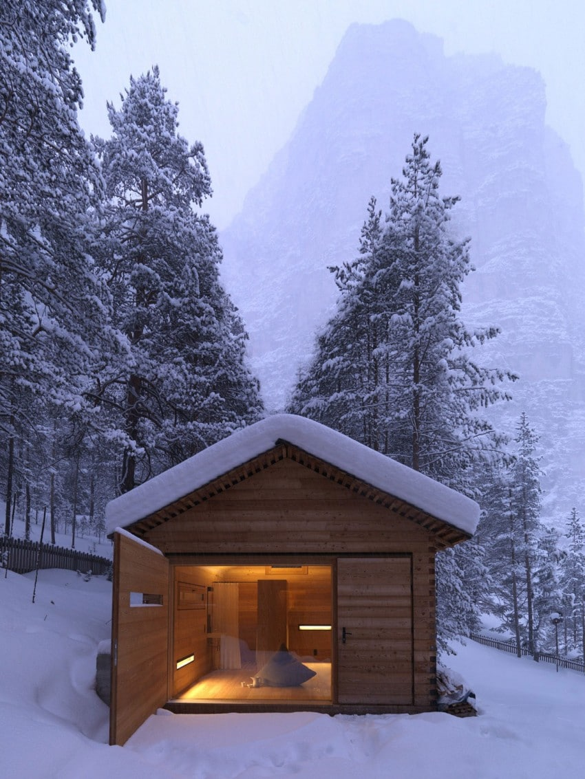 Remote cabin plans joy studio design gallery best design for Remote cabin plans
