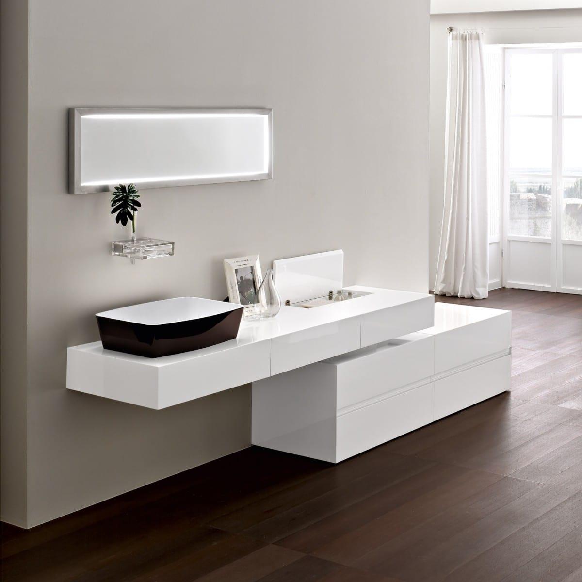Dise o de cuartos de ba o modernos fotos construye hogar for Ideas para muebles de bano