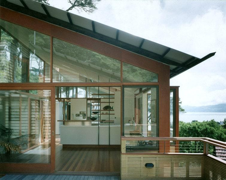 Dise o de casa en la monta a fachada interior y maqueta - Apartamentos de montana ...