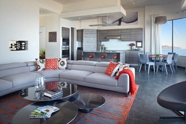 Dise o de casa de dos pisos 100 autosustentable con - Quoi mettre sur une table basse ...
