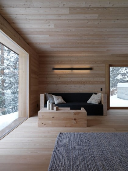 Sala para climas fríos