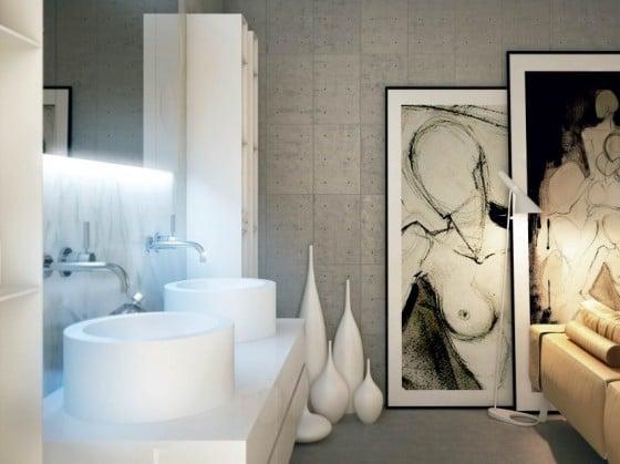 Decoración de baños modernos 19