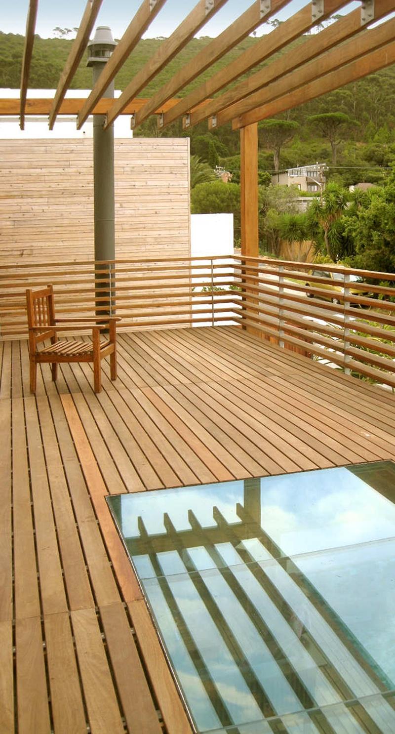 Planos de casa de dos pisos construida en terreno cuadrado - Piso para terraza economico ...