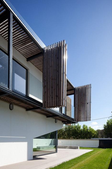 Diseño de balcón plegable / ajustable de acuerdo al clima ...