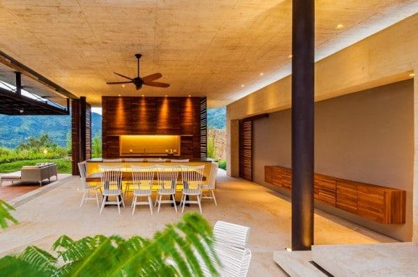 Diseno De Baño Rural:Colombia Modern House