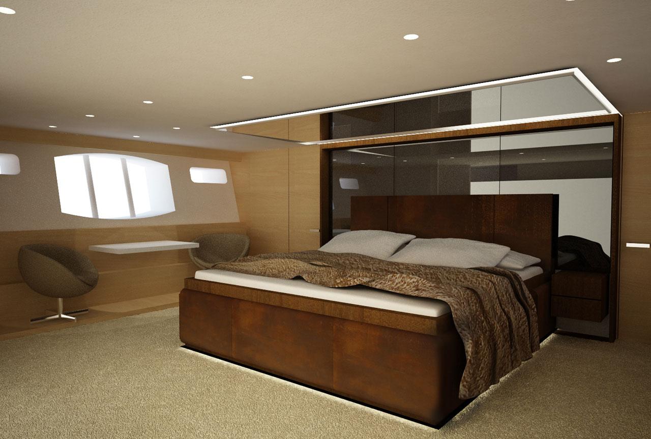 Decoracion De Un Baño Principal:Diseño de planos de distribución de un moderno barco