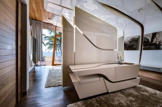 Diseño de interiores de casa de un piso