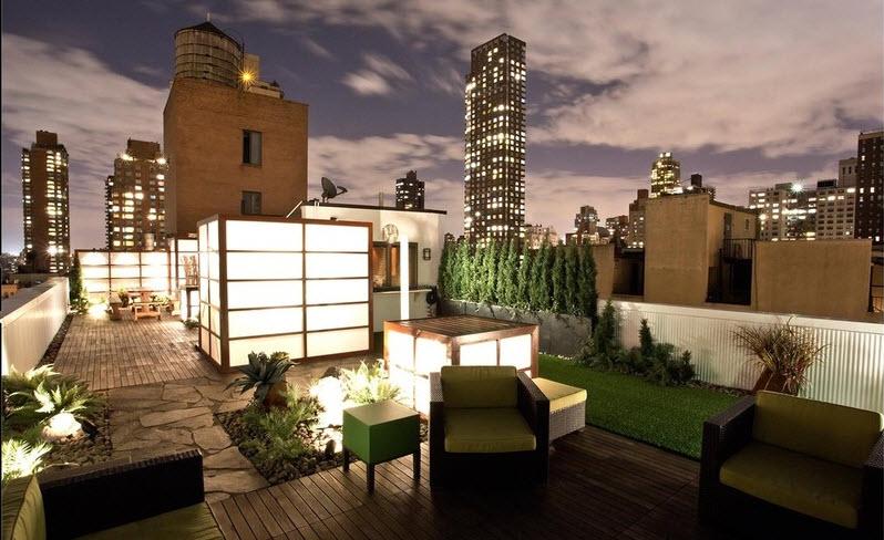 10 hermosos dise os de jard n en el techo de la casa for Como hacer una terraza techada