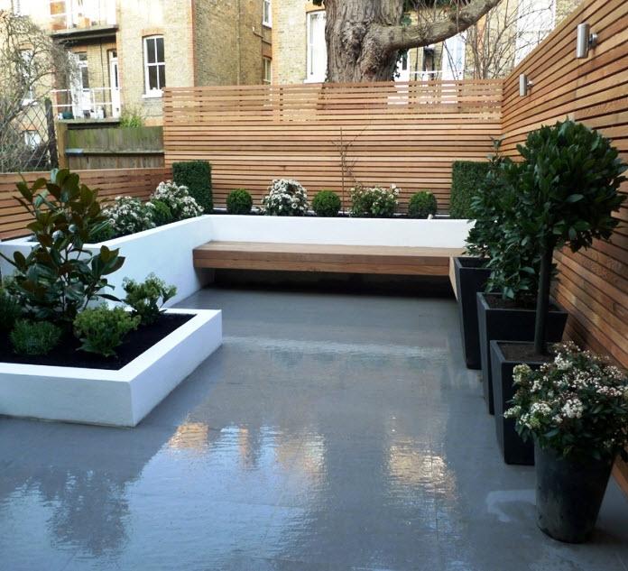 10 hermosos dise os de jard n en el techo de la casa for Jardin con madera